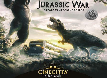 Jurassic War a Cinecittaworld