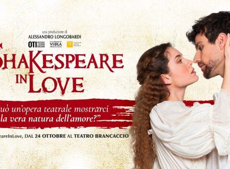 Shakespeare in Love, al Brancaccio. Il gioco del Teatro nel Teatro.