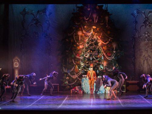 Dicembre con la scuola di danza del teatro dell'opera di Roma