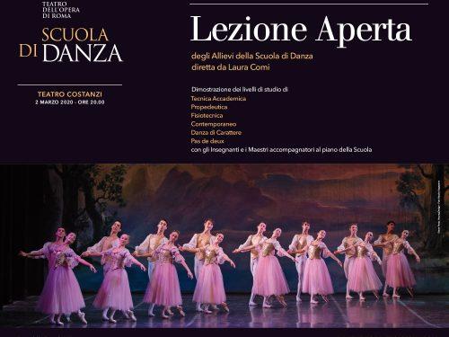 Lezione aperta al Teatro dell'Opera di Roma