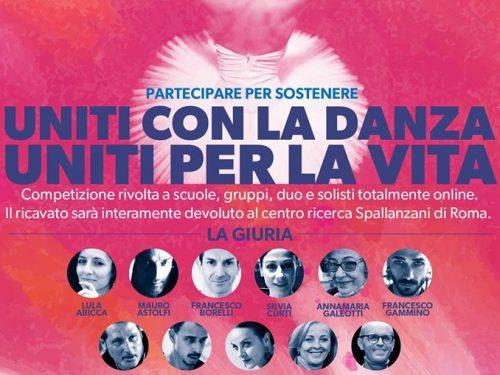 """""""Uniti con la danza, Uniti per la vita"""" il 1° Aprile il concorso è online"""